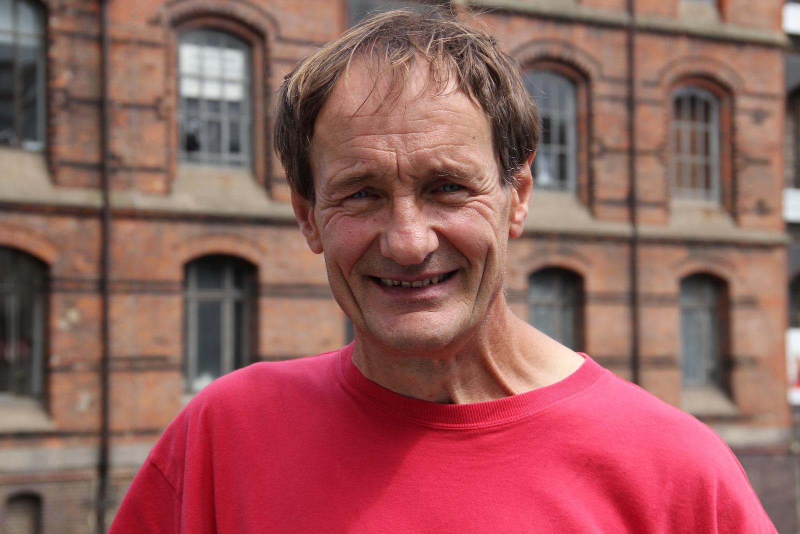 Botaniker Jürgen Feder Porträt