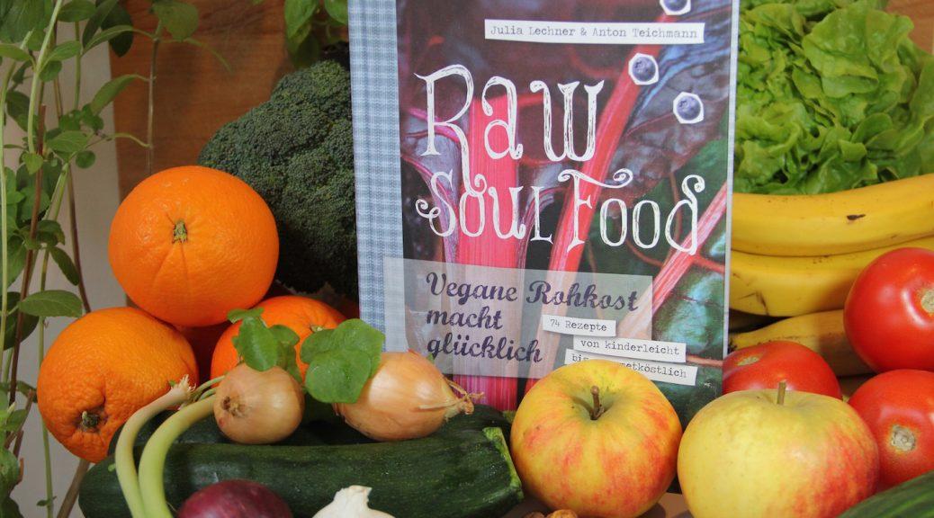 Buch Raw Soul Food zwischen Obst und Gemüse