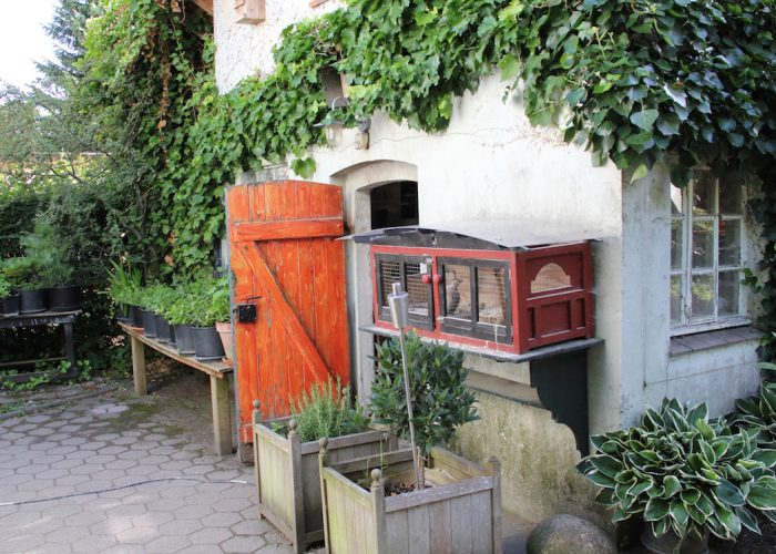 Geöffneter Stall