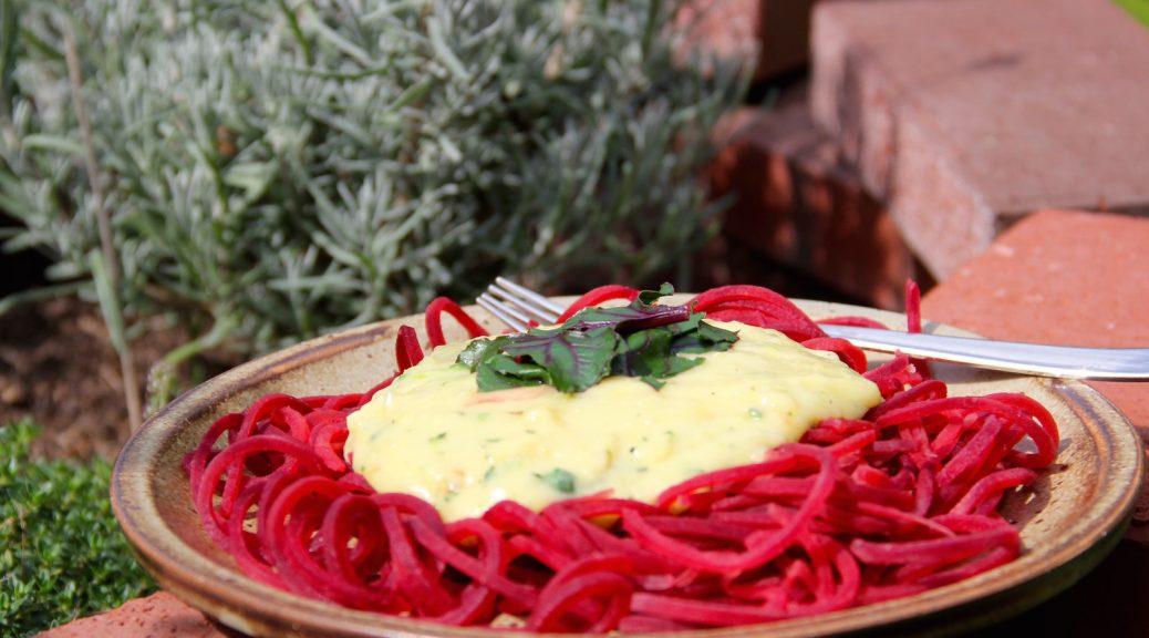 Rote-Bete-Spaghetti