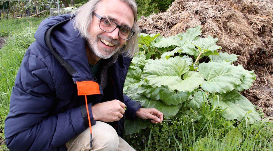 Wildkräuterkenner Jens Clausen